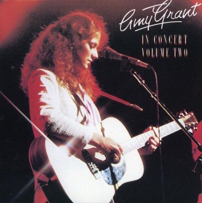 In Concert, Volume 2, Remastered CD   -     By: Amy Grant