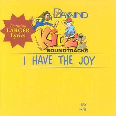 I Have The Joy, Accompaniment CD   -