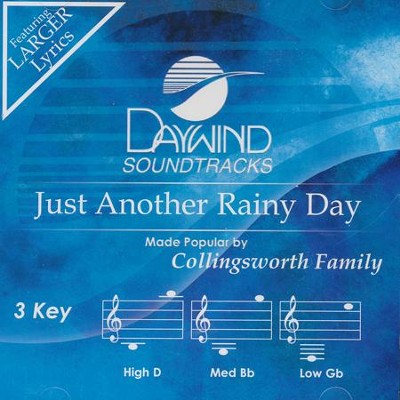Just Another Rainy Day Acc, CD  -     By: The Collingsworth Family