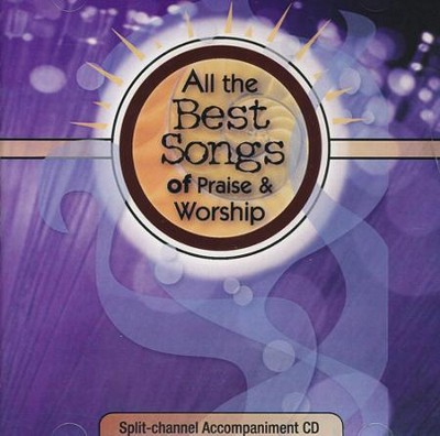 All the Best Songs of Praise & Worship, Split-Track, Acc CD   -