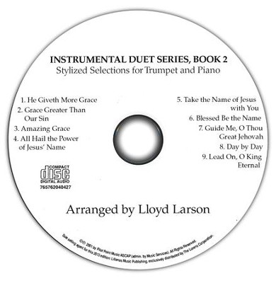 Worship Suite for Trumpet/Piano, CD   -     By: Lloyd Larson
