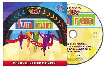 Jeff Slaughter VBS Fun Run 2015: VBS Listening CD   -     By: Jeff Slaughter