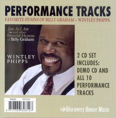 Favorite Hymns of Billy Graham (CD Trax)   -     By: Wintley Phipps