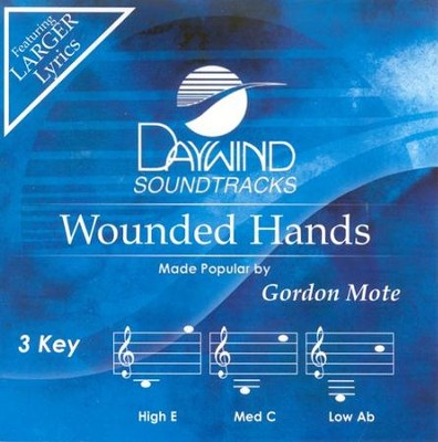 Wounded Hands, Acc CD   -     By: Gordon Mote