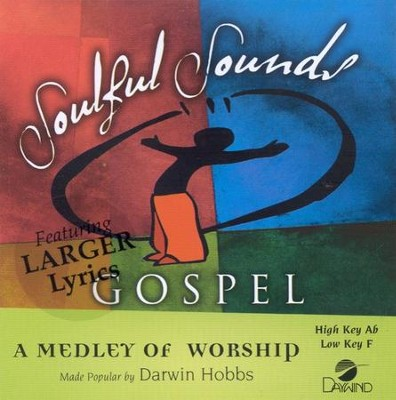 A Medley of Worship, Accompaniment CD   -     By: Darwin Hobbs