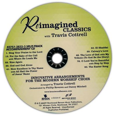Reimagined Classics - Split Track Accompaniment   -     By: Travis Cottrell