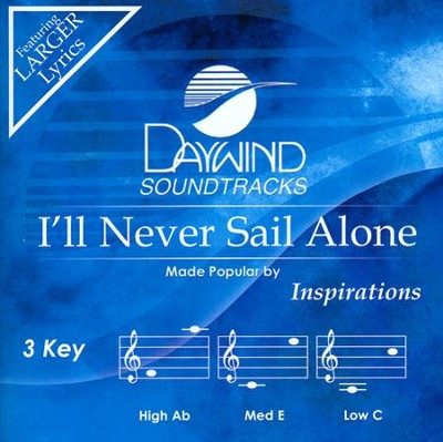 I'll Never Sail Alone Acc, CD  -     By: The Inspirations