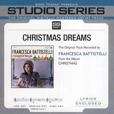 Christmas Dreams Acc, CD  -     By: Francesca Battistelli