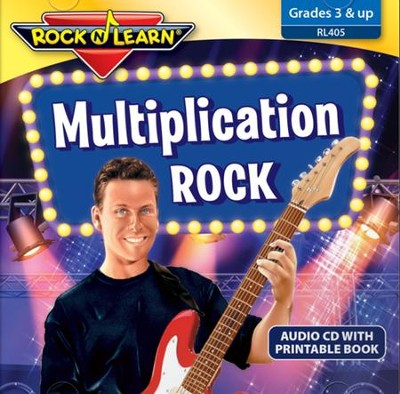 Multiplication Rock CD & Printable Book   -