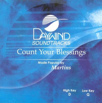 Count Your Blessings, Acc CD   -     By: The Martins