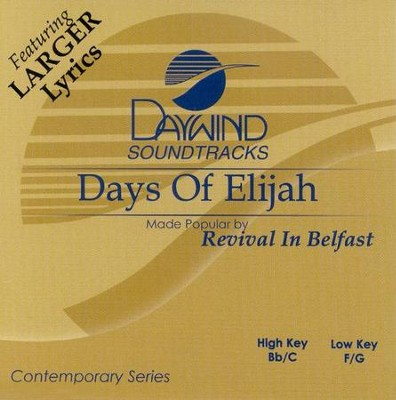 Days of Elijah, Acc CD   -     By: Revival in Belfast