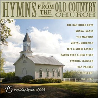 Hymns from the Old Country Church CD  -
