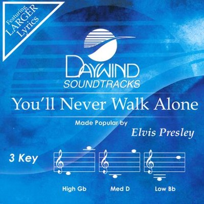 You'll Never Walk Alone, Acc CD   -     By: Elvis Presley