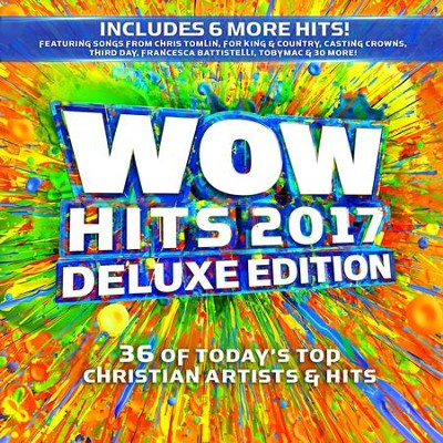 WOW Hits 2017, Deluxe Edition, CD   -     By: Various Artists