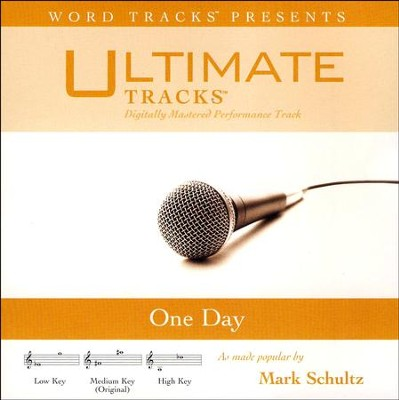 One Day Acc, CD  -     By: Mark Schultz