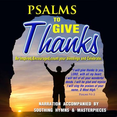 Psalms To Give Thanks: CD  -     By: David & The High Spirit