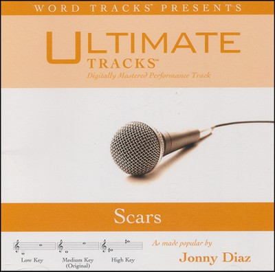 Scars (Medium Key Performance Track with Background Vocals)  [Music Download] -