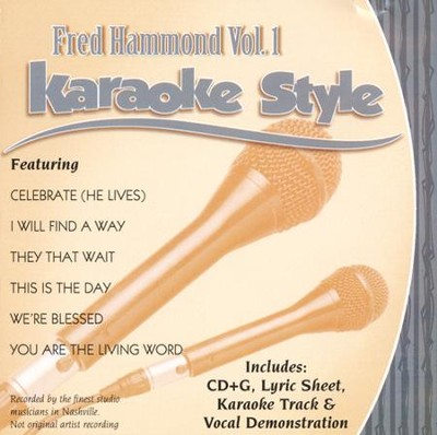 Fred Hammond #1, Karaoke CD   -