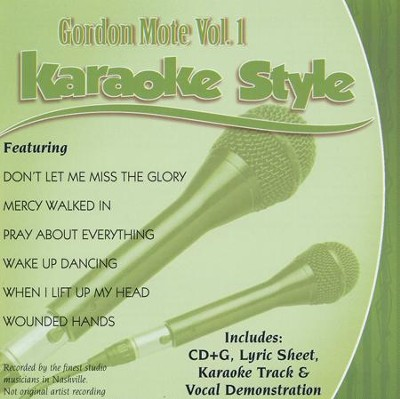 Gordon More, Vol. 1, Karaoke CD   -