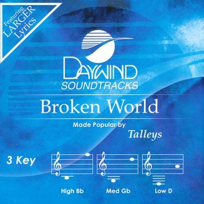 Broken World Accompaniment, CD  -     By: The Talleys