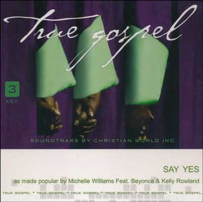 Say Yes, Acc CD   -     By: Michelle Williams
