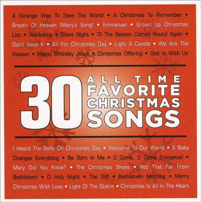 30 All Time Favorite Christmas Songs   -     By: Various Artists