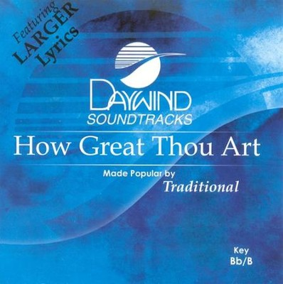 How Great Thou Art, Acc CD   -