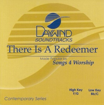There Is A Redeemer, Accompaniment CD   -     By: Songs 4 Worship