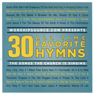 30 All Time Favorite Hymns, 2 CDs   -