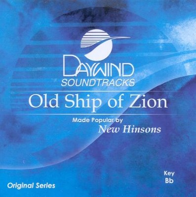 Old Ship Of Zion, Accompaniment CD   -     By: Ronny Hinson