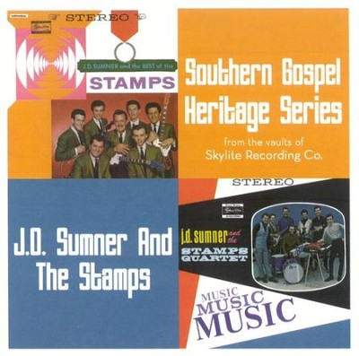 Southern Gospel Heritage Series: J.D. Sumner and the Stamps CD   -