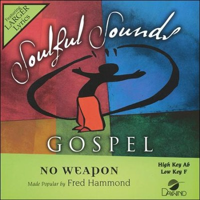 No Weapon, Acc CD   -     By: Fred Hammond