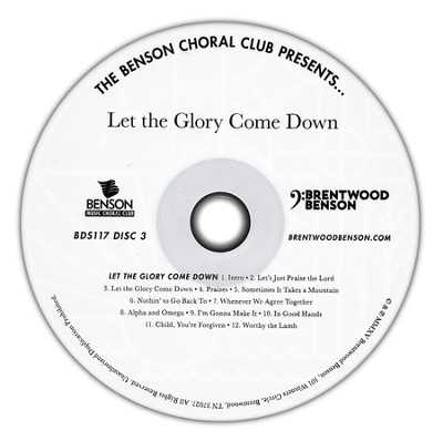 Let the Glory Come Down, Listening CD   -     By: Geron Davis, Bradley Knight