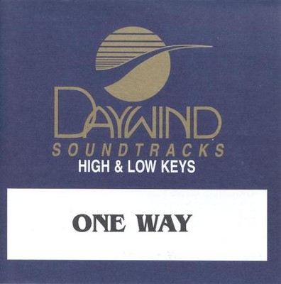 One Way, Accompaniment CD   -     By: Jeff Easter, Sheri Easter