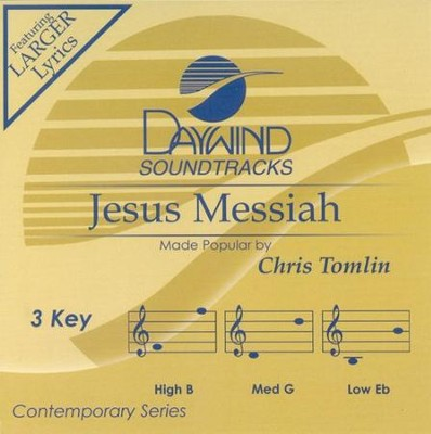 Jesus Messiah, Acc CD   -     By: Chris Tomlin