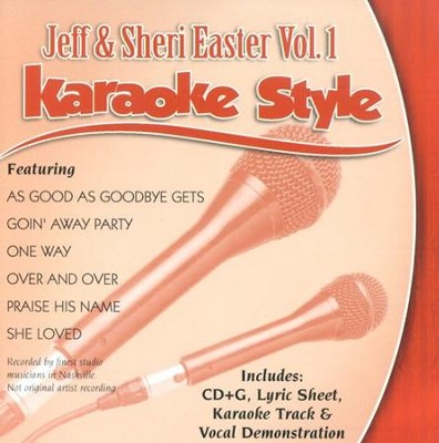 Jeff & Sheri Easter, Vol. 1, Karaoke CD   -     By: Various Artists