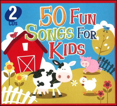 50 Fun Songs for Kids (2 CD Set)   -