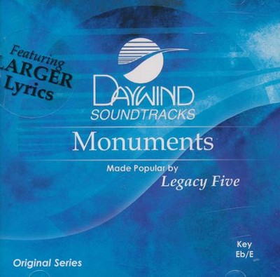 Monuments, Acc CD   -     By: Legacy Five