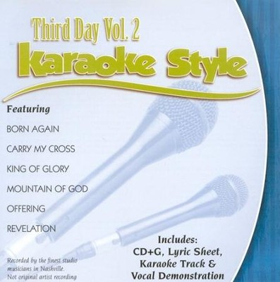 Third Day, Volume 2, Karaoke Style CD   -