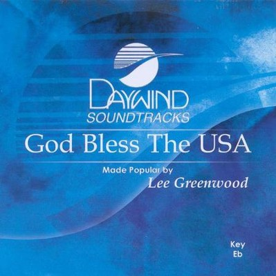 God Bless The USA, Acc CD      -     By: Lee Greenwood