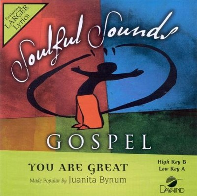 You Are Great, Acc CD   -     By: Juanita Bynum