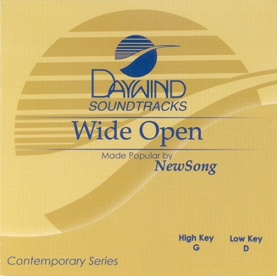 Wide Open, Accompaniment CD   -     By: NewSong