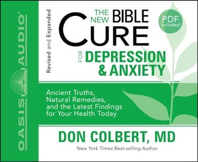 The New Bible Cure for Depression and Anxiety - Unabridged Audiobook  [Download] -     By: Don Colbert M.D.