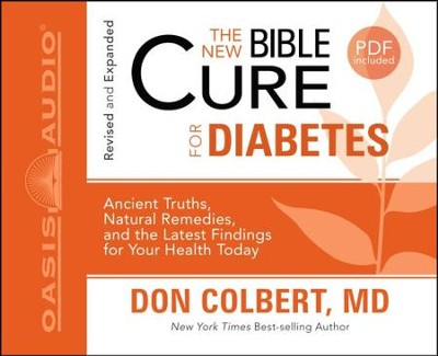 The New Bible Cure for Diabetes - Unabridged Audiobook  [Download] -     By: Don Colbert M.D.