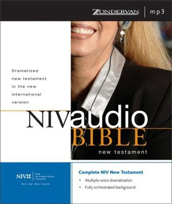 NIV Dramatized Audio New Testament: Multi-voice Edition - Unabridged Audiobook  [Download] -