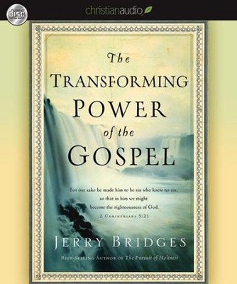 The Transforming Power of the Gospel - Unabridged Audiobook  [Download] -     Narrated By: Ray Porter     By: Jerry Bridges