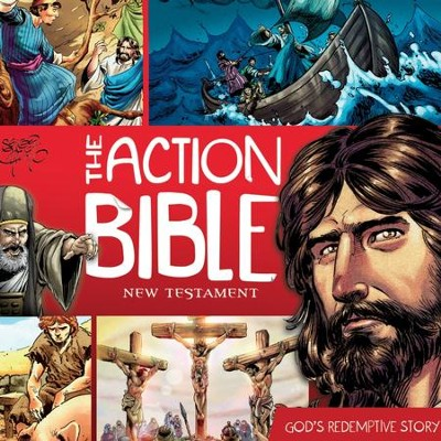 The Action Bible New Testament: God's Redemptive Story - Unabridged Audiobook  [Download] -     Edited By: Doug Mauss     By: Doug Mauss(Ed.)