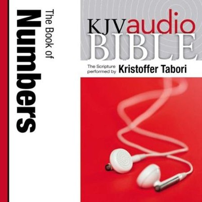 King James Version Audio Bible: The Book of Numbers Performed by Kristoffer Tabori Audiobook  [Download] -     Narrated By: Kristoffer Tabori     By: Zondervan Bibles & Kristoffer Tabori(Narrator)