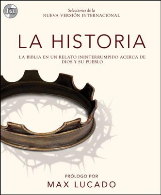The Story, audio download, unabridged: La Biblia en un relato ininterrumpido acerca de Dios y su pueblo Audiobook  [Download] -     By: Zondervan