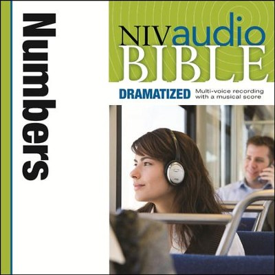 NIV Audio Bible, Dramatized: Numbers - Special edition Audiobook  [Download] -     By: Zondervan